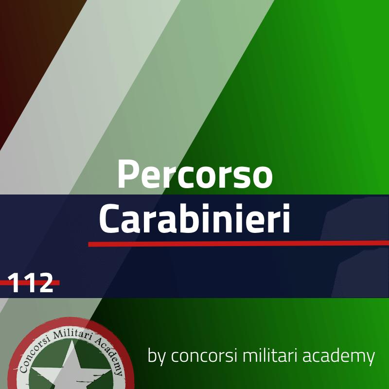 Percorso Carabinieri