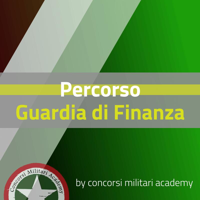 Percorso Guardia di Finanza