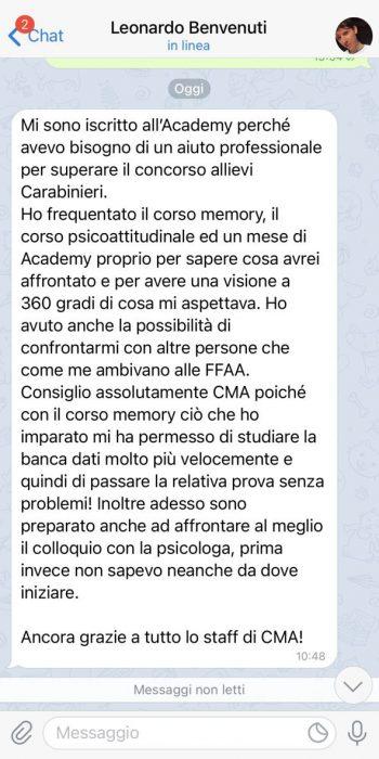Testimonianza Leonardo Benvenuti Generale 3